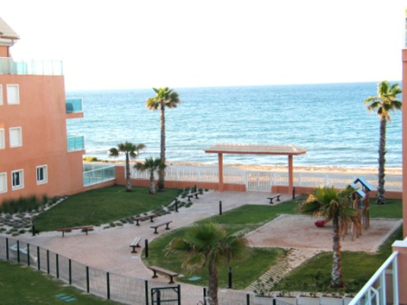 Apartment in first line of the beach for sale in Denia