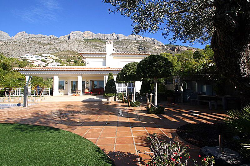 Luxury villa in Altea for sale