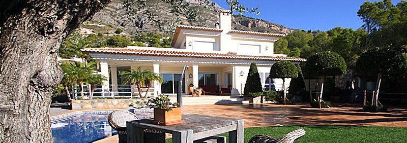 Luxury villa in Altea for sale
