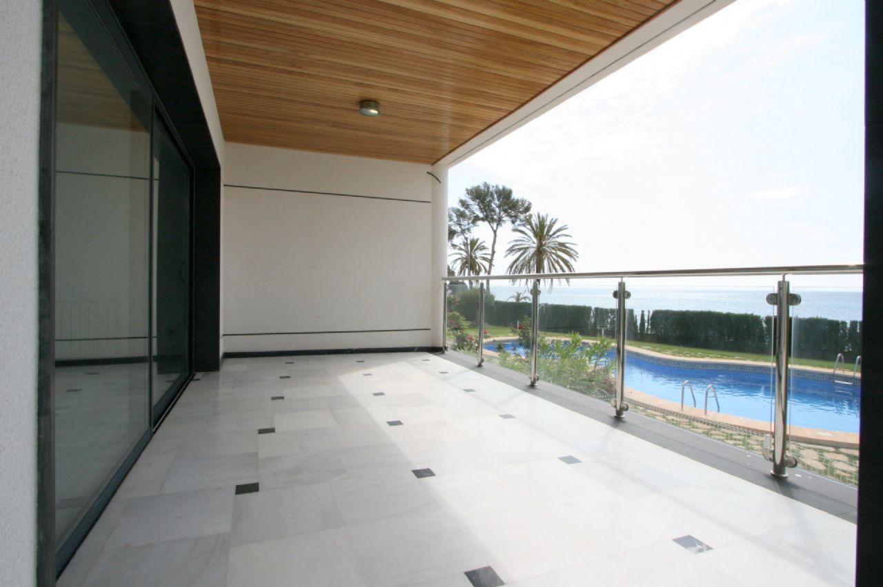 Maisonette Erdgeschosswohnung direkt am Meer