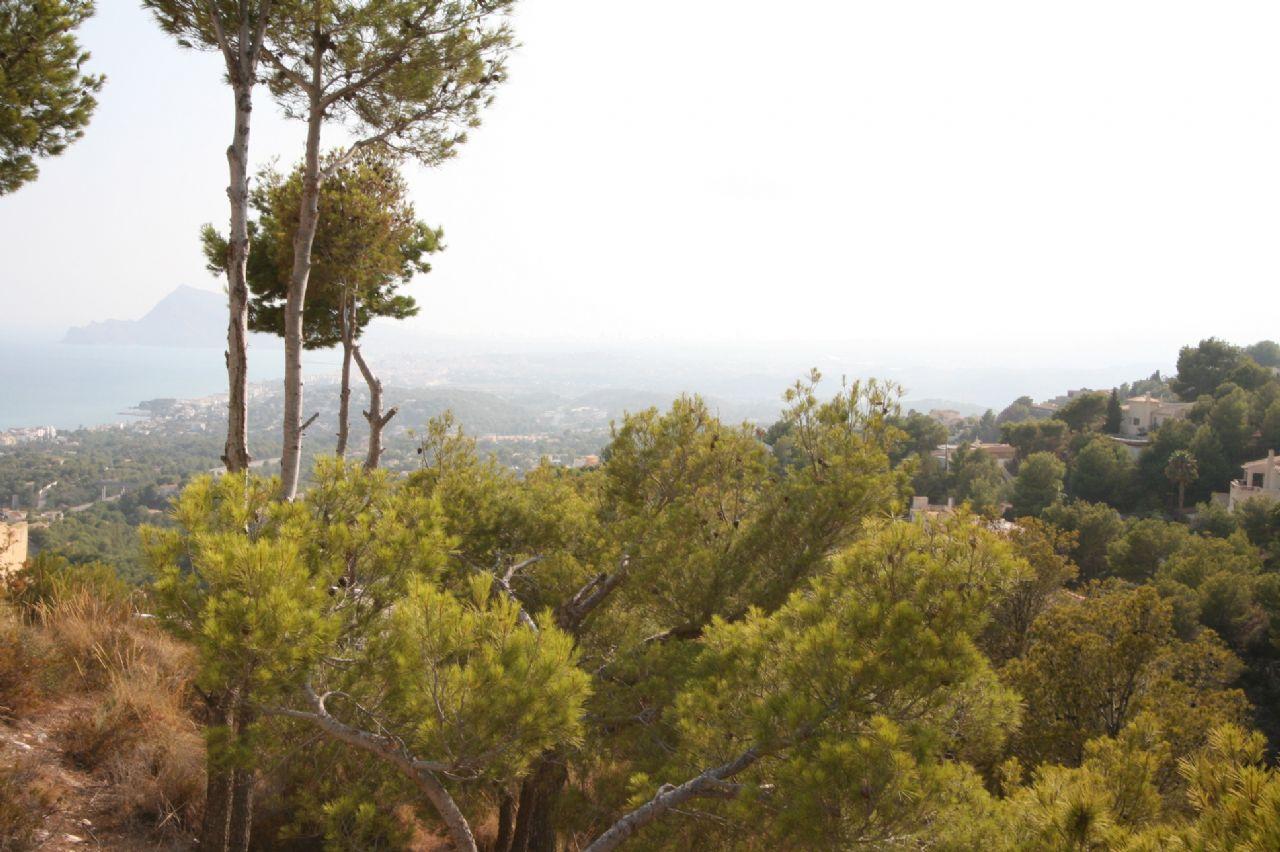 Baugrundstück mit Meerblick in Altea – Costa Blanca