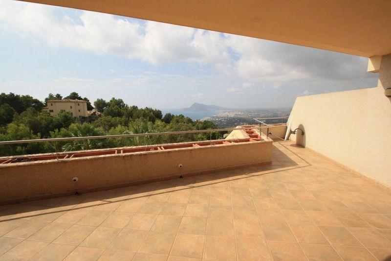 Wohnung mit spektakulärem Meerblick in Altea Costa Blanca