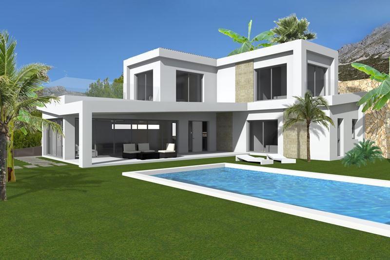 Moderner Neubau in der Nähe von Altea la Vella