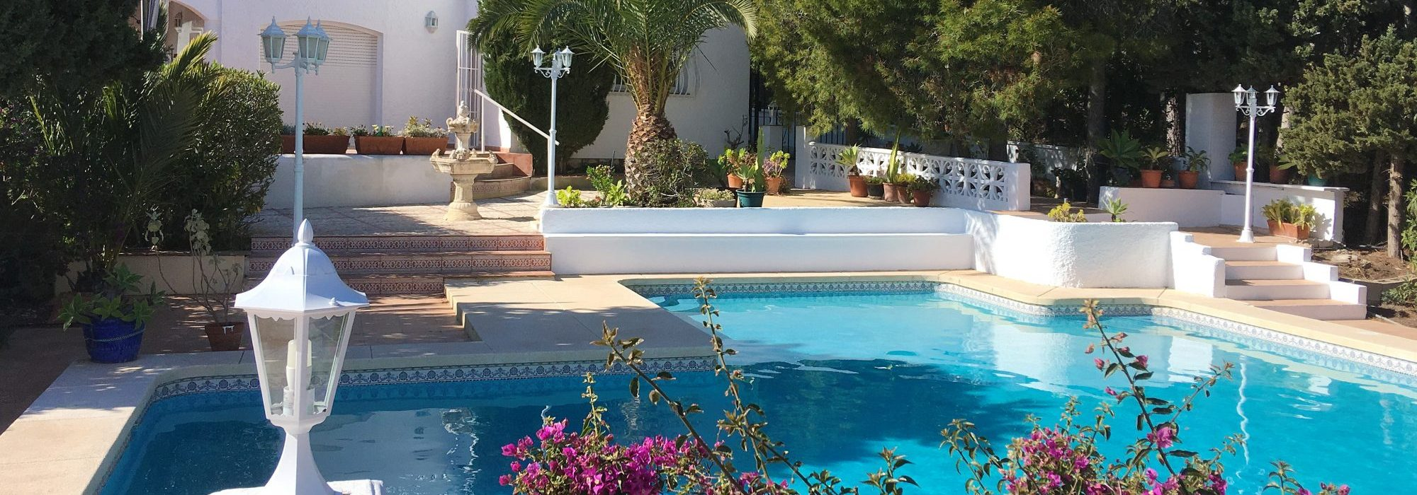 Newly renovated villa for rent in Altea La Vieja – Alicante