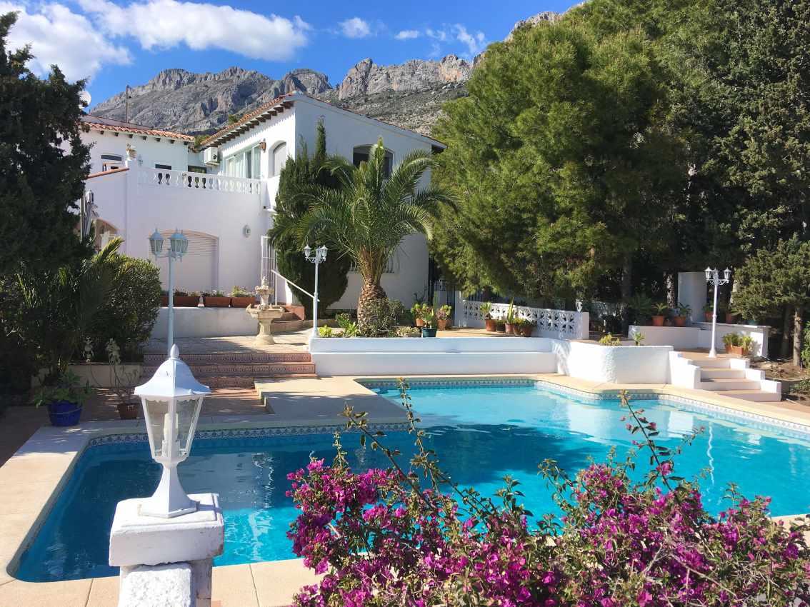 Neu renovierte Villa in Altea La Vieja zu vermieten – Alicante