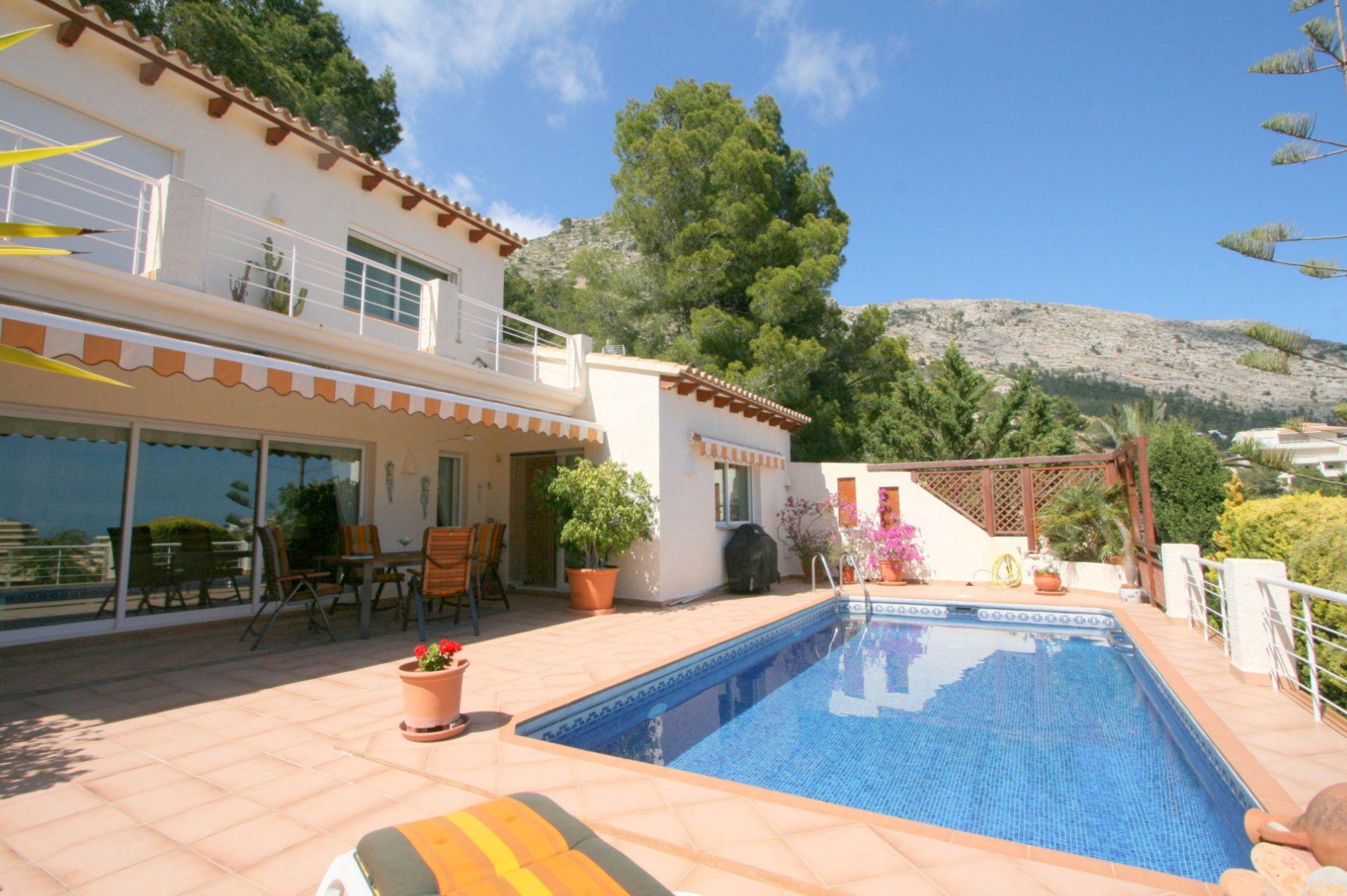 Schöne Villa in der Sierra de Altea zu verkaufen