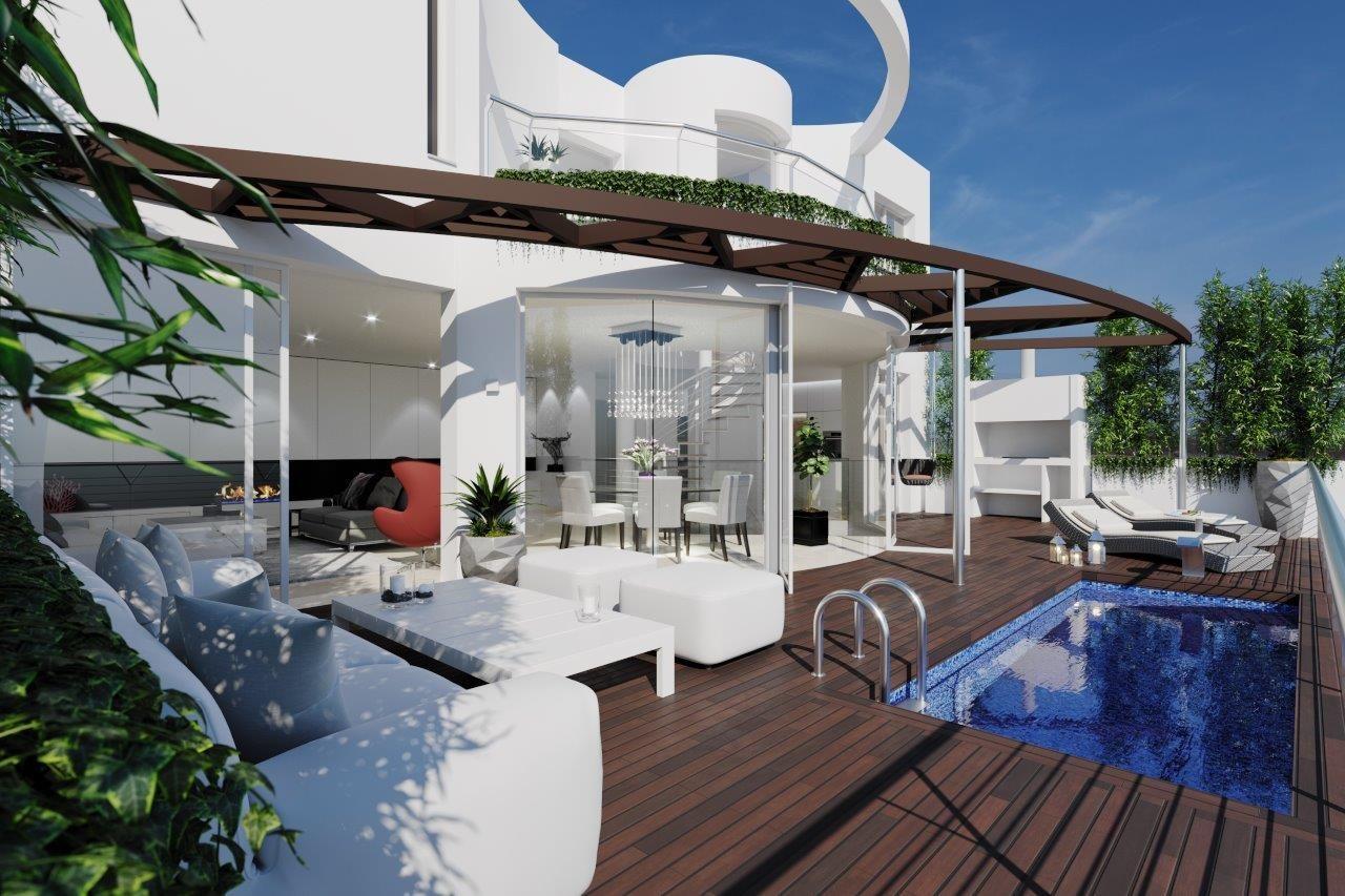 Neue moderne Villa in Altea zu verkaufen