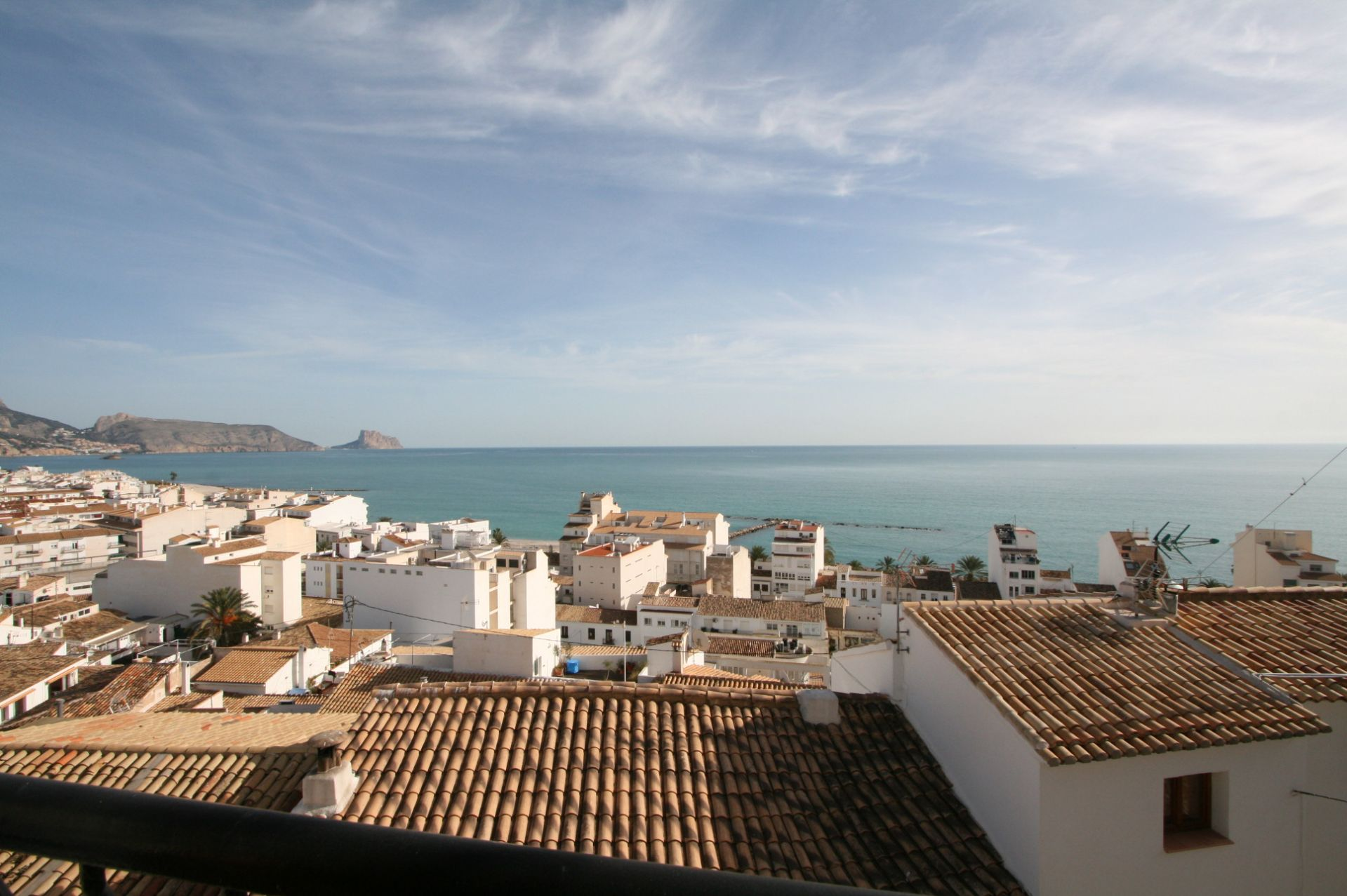 Old town house with seaviews  for sale in Altea